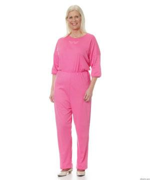 woman-pink-jumpsuit